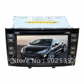 2 Din Car GPS Navigation Peugeot RCZ DVD Player