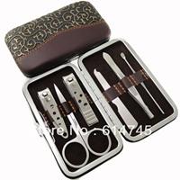 5 sets Gift golden dragon manicure set steel six pieces set finger cut dw621