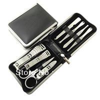 5 sets Finger plier manicure set nail clipper 8 piece set 138 ofof t
