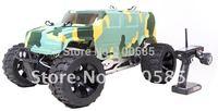 Free Shipping-30.5cc 4 Bolt Engine 4WD Hummer RC Truck w/Hydraulic Disc Brake RC Car 2.4G RTR