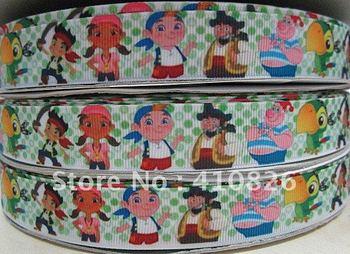 WM ribbon wholesale/OEM 7/8 inch toy boy grosgrain ribbon 50yds/roll free shipping