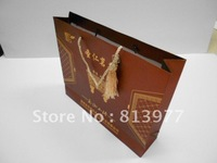 Wholesale for  Paper bag/Paper shopping bag/paper packing bag Size customize available 200pcs/lot