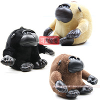 Plush toy;  The jocko/gorilla doll; Monkey; 3 colors to choose; Free shipping!