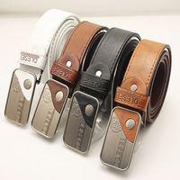 new 2014 For Men Fashion PU Leather Belt Personalized Women Waist Belts