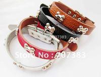 Free shipping!20pcs lot Super cute dog collar,leather dog collars,pet collars,dog supplies, pet product
