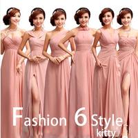 pink Evening Dresses 2014 Fashion Pink Bride Evening Dress Bridal Wear 2013 Dresses 6910