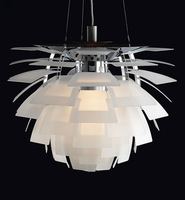 EMS Free Shipping Hot Selling Wholesale Louis Poulsen PH Artichoke Lamp White Denmark LED Modern Suspension Pendant Light
