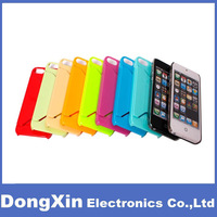 50PCSX Plastic Hard Case with Card Slot Holder Cover For iPhone 5 5G