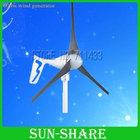 DHL free shipping 2012 hot selling low noise 600w wind turbine generator