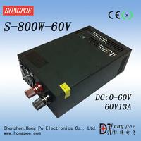 800W 0 ~ 60V13A adjustable switching power supply custom power