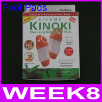 Foot Patch Kinoki Detox Foot Pads Patches With Adhersive (1box=10pcs) With Box Good Quality