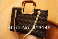 2013 new arrival Fashion Women handbag Jet Set  Patent Tote with golden chain