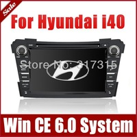 "7"" 2-Din Car DVD Player for Hyundai I40 2011-2013 with GPS Navigation Rdio Bluetooth TV USB AUX SWC Map Auto Audio Video Stereo"