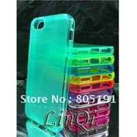 TPU Anti-glare matte transparent Case Anti-skid protection shell Cover for iPhone 5G protective case
