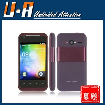 Cheapest MTK6573 Android phone G20 3.5 inch capacitive screen Gps wifi gsm + wcdma 3g dual sim mobile phone with free gift