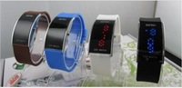 Lovers watch waterproof electronic watch led watch jelly table fashion table