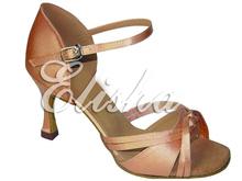customized satin lady open toe ballroom salsa latin chacha dancing shoes all colors(China (Mainland))