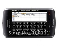 10 pcs/lot & 100% Original &Unlocked Blackberry  9500 Storm Mobile Phone ,Storm 9500, B  service and message