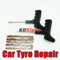 2PCS/lot New Auto Car and Tubeless Van Tyre Puncture Repair Kit Free Shipping #10180