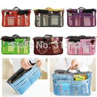 Hot Sale 1pcs/lot Lady's Organizer Bag Travel Bag Organizer With Pockets Purse Organizer With Pockets