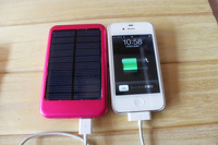 5000mah External Battery for iPhone iPod iPad Mobile Phone Solar Battery Panel Charger 20pcs/lot DHL free shipping