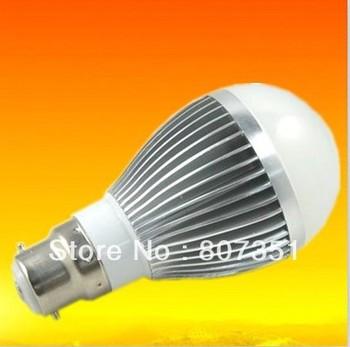 New Arrival high power globe bulb 10w 5x2w led lighting B22 base(E27/E14 available) Warm White&Cool White 20PCS