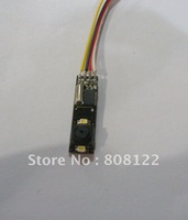 3.3-5V7*27mm  high definition cmos tiny camera module mini camera with LED