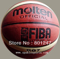 Free Shipping Molten Basketball GG7, Size7 basketball, PU Materia, 1pcs/lot Free with ball pump+net bag+2pcs pins(China (Mainland))