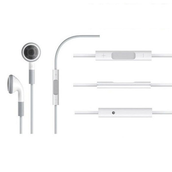 Headphones Earphone Headset With Remote Control Mic For iPhone 4 4S 3GS 4G iPod Touch Earbuds