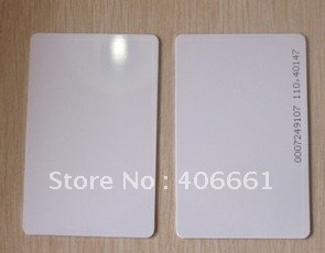 100pcs Proximity EM ID thick Card MANGO Proximity EM Thin Card/ID card,125KHZ with number/code(China (Mainland))