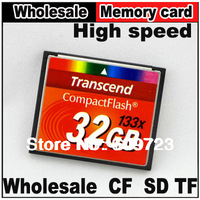 Real capacity High speed Transcend Compact Flash CF card flash 2G/4G/8G/16G/32G memory card For Canon Nikon camera,Free shipping