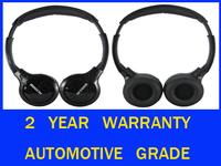 2PCS New Wireless Infrared IR Car DVD Roof headrest Sound Headsets Town & Country PT Cruiser  Aspen  Pacifica