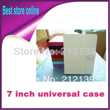 1 Piece Free Shipping Universal 7 inch Tablet Leather Flip Case for Nexus 7 ii for Ainol Teclast Icoo Ampe Onda Cube Ployer