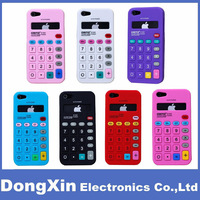 Soft Silicone Calculator Gel Case Cover Protector For iPhone 5 5G