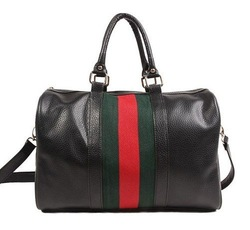 FLYING BIRDS 2012 classic green red stripe bucket handbag bag vintage shoulder bag messenger bag HA568(China (Mainland))