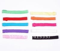 2012 Free Shipping 10 colors wholesale boutique Lace Headbands ,120pcs/lot