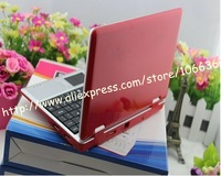 Brand New 7 Inch Notebook Wifi Mini Laptop PC Netbook 4GB 256M Android 2.2 Dropship Wholesale Best Gift for Christmas