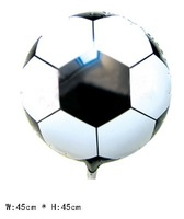 """18"""" Round Football Helium balloons Inflatable toys for children games Kids birthday party decorations 50pcs/lot"""
