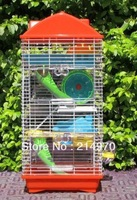 Minihappy luxury hamster cage three layer villa hamster cage supplies