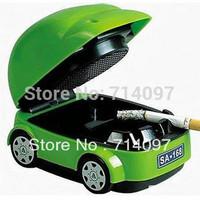 Free shipping  Best Christmas novelty gift Usb car eco-friendly smokeless ashtray
