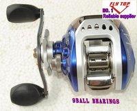 Good quality Left handle bait casting reels  fishing reels  fishing tackle fishing tool  8+1BB