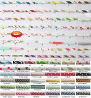 1000pcs Free shipping Paper Straws, Chevron Patterns & Striped & Polka Dots Drinking Paper Straws 92 colors mix  25pcs packing