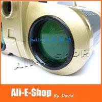 Kid's Gift, New 4 X 30mm HD Green Film Night Gleam Vision Scope Binoculars Surveillance Scope with Pop-up Light Free Shipping