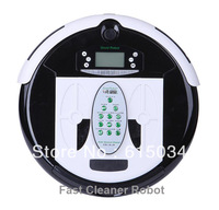 (Free Shipping For Russian Buyer)4 In 1 Multifunctional Robot Vacuum Cleaner, Larger Dustbin,Mopping Function, UV lights