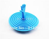 4 colour Creative Palm Stopper Bathtub plug Water leak plug Basin plug