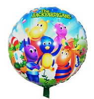 "50 PCS 18"" inch The BACKYARDIGANS Helium balloons kids birthday party decorations Inflatable toys gifts for children games"