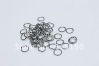 1000pcs Strong 316L Stainless Steel Jump Ring 0.8*7mm, Suit for DIY Necklace, Free Ship