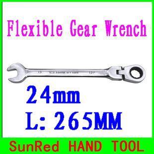 Гаечный ключ SunRed BESTIR 24 L:265 cr/v M 72tooth 180 no.53524 ключ торцевой vorel l типа 17мм
