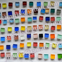 520gram/600pcs/lot,Mosaic tile,scramble tiles,10x10x4mm,color assorted,diy accessories,Home decoration,Freeshipping wholesale(China (Mainland))