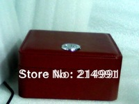 172# leather pu dark Red Watch Box Skyfall 007 Gift case free shipping date just watches boxes made in china f1